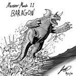 Kaiju Monster March 11 - Baragon