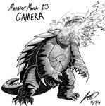 Kaiju Monster March 13 - Gamera