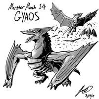 Kaiju Monster March 14 - Gyaos by pyrasterran