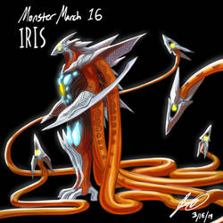Kaiju Monster March 16 - Iris by pyrasterran