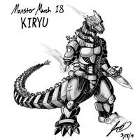 Kaiju Monster March 18 - Kiryu by pyrasterran
