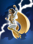 Thunder Woman Tribute by pyrasterran