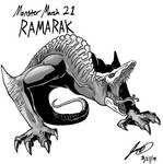 Kaiju Monster March 21 - Ramarak