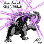 Kaiju Monster March 23 - Shin Godzilla