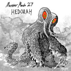 Kaiju Monster March 27 - Hedorah by pyrasterran