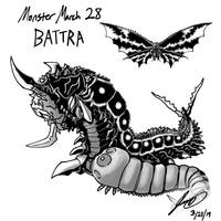 Kaiju Monster March 28 - Battra by pyrasterran