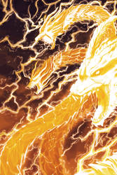 Godzilla: King of the Monsters: Thunder by pyrasterran