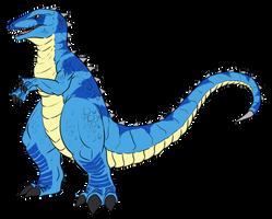Commission - Gorosaurus Variant by pyrasterran