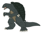 Commission - Gamera 1996 by pyrasterran