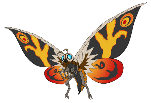 Commission - Mothra Variant