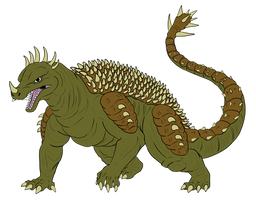 Commission - Anguirus Variant
