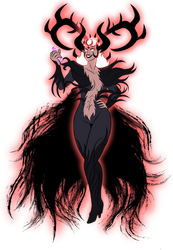 Commission - Infernal Empress