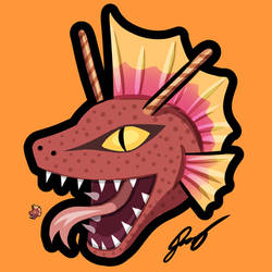 Titanotober Emojis - Titanosaurus