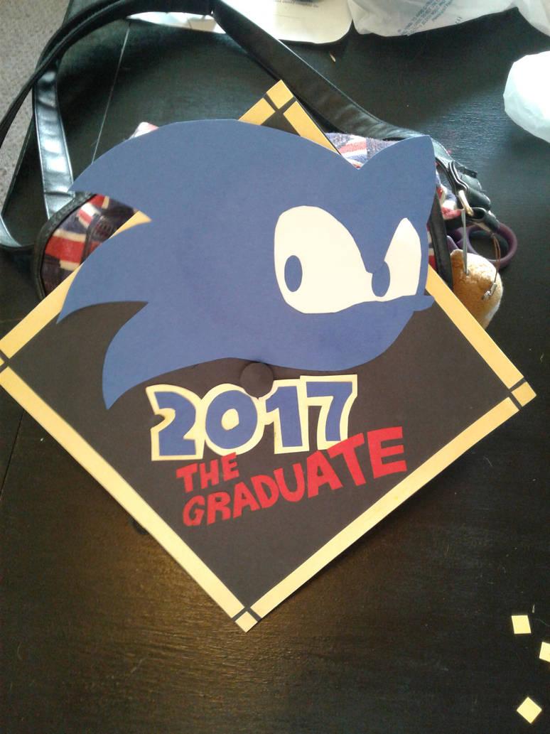 Sonic The Hedgehog Graduate Cap By Tyendye On Deviantart