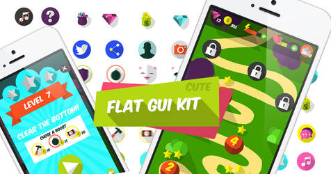 Flat Gui kit