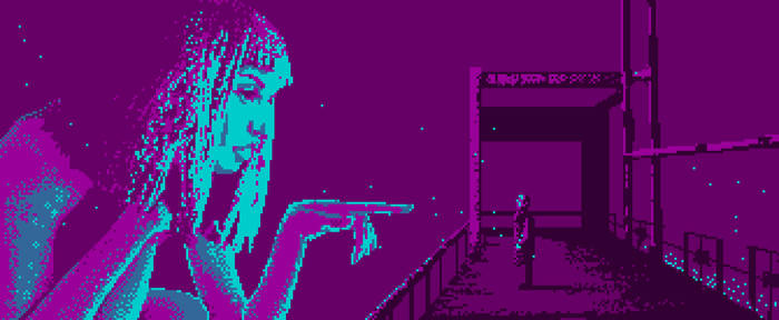 Bladerunner Pixelart