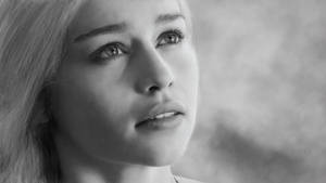 Daenerys Stormborn Tragaryen Realistic Portrait by DrawingTheFamous