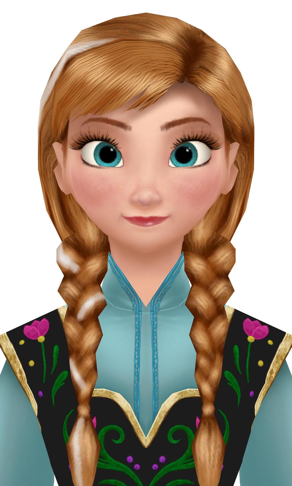 frozen heart anna