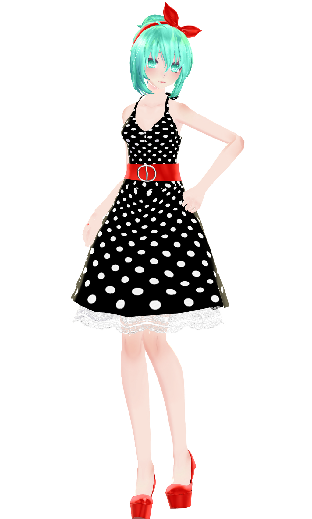 Rockabilly Girl [W.I.P #02] by XxXSickHeartKunXxX