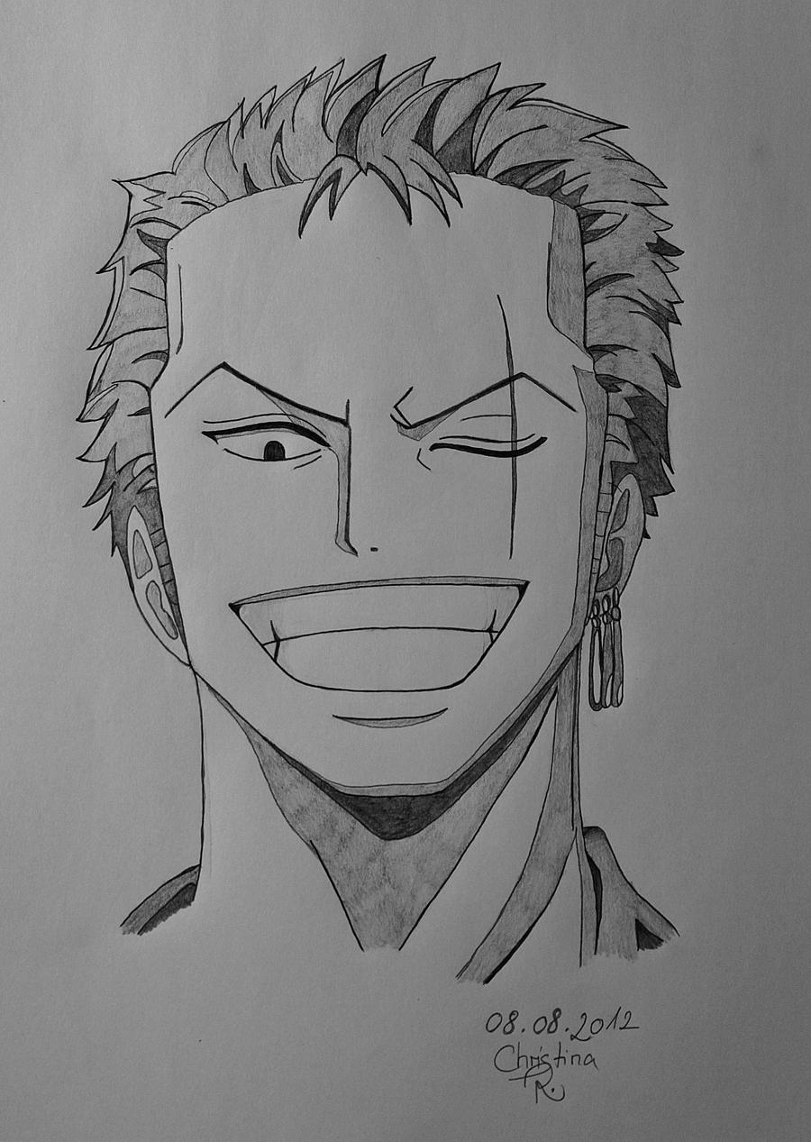 One Piece Zoro New World Drawing