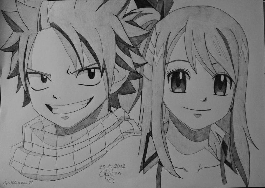 Natsu and Lucy by Monstacookie