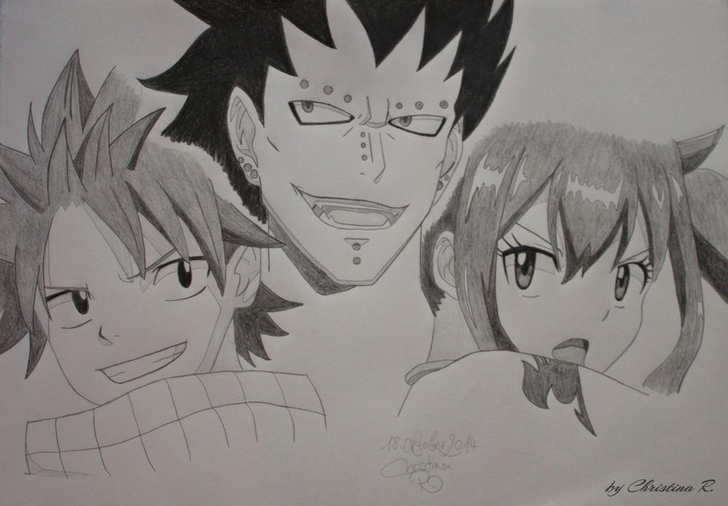 Dragon Slayers of Fairy Tail by Monstacookie