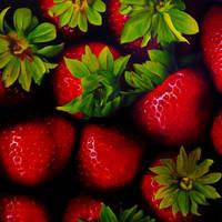 Strawberries by Lillemut