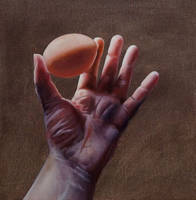 Study Hand and Egg by Lillemut