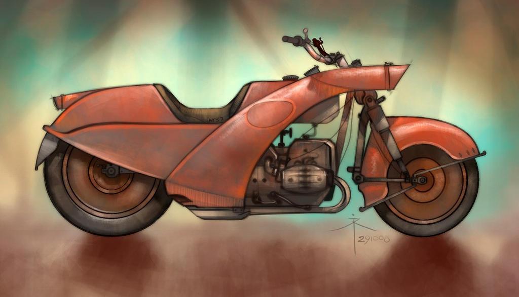 Mοτοσυκλέτα και ζωγραφική !!!!!!! 291008___motorcycle_by_600v