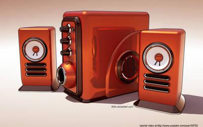 2.1 stereo modeling video by 600v