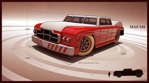 MAZ 541 road monster by 600v
