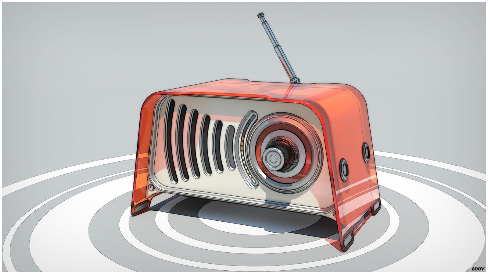 0400412 - radio by 600v