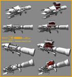 Borderlands 2 - weapon concept art #14