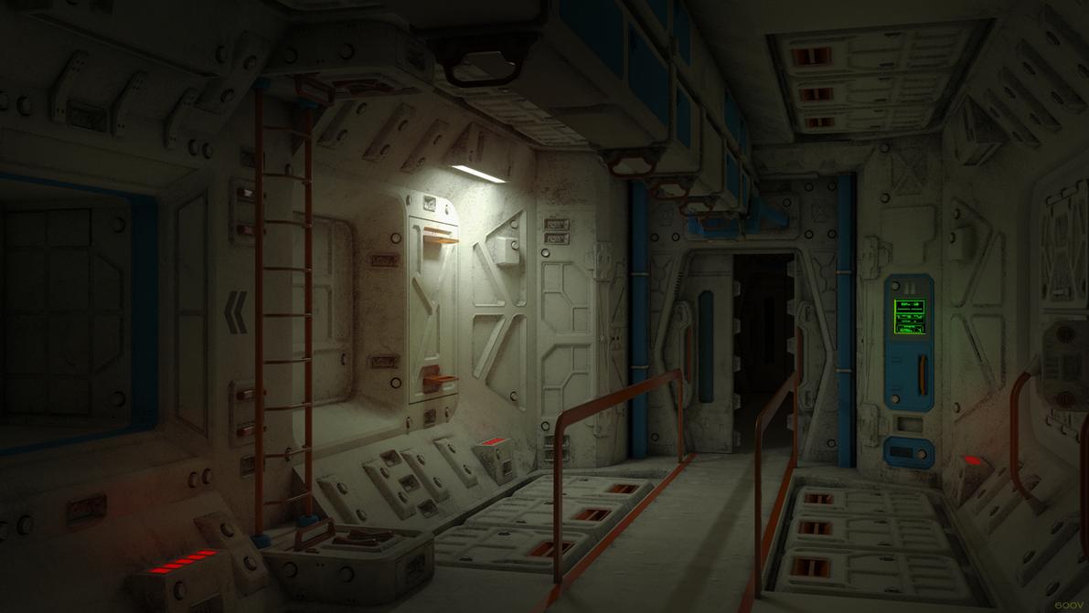lab zone corridor by 600v