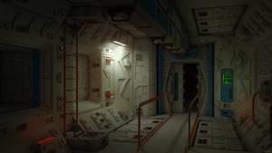 lab zone corridor
