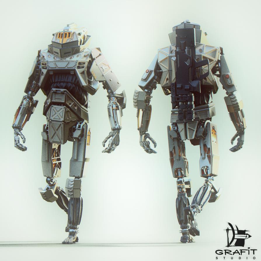 Sentinel #3 - white by 600v