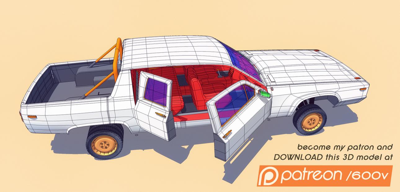 RM 309 M2 3D-model by 600v