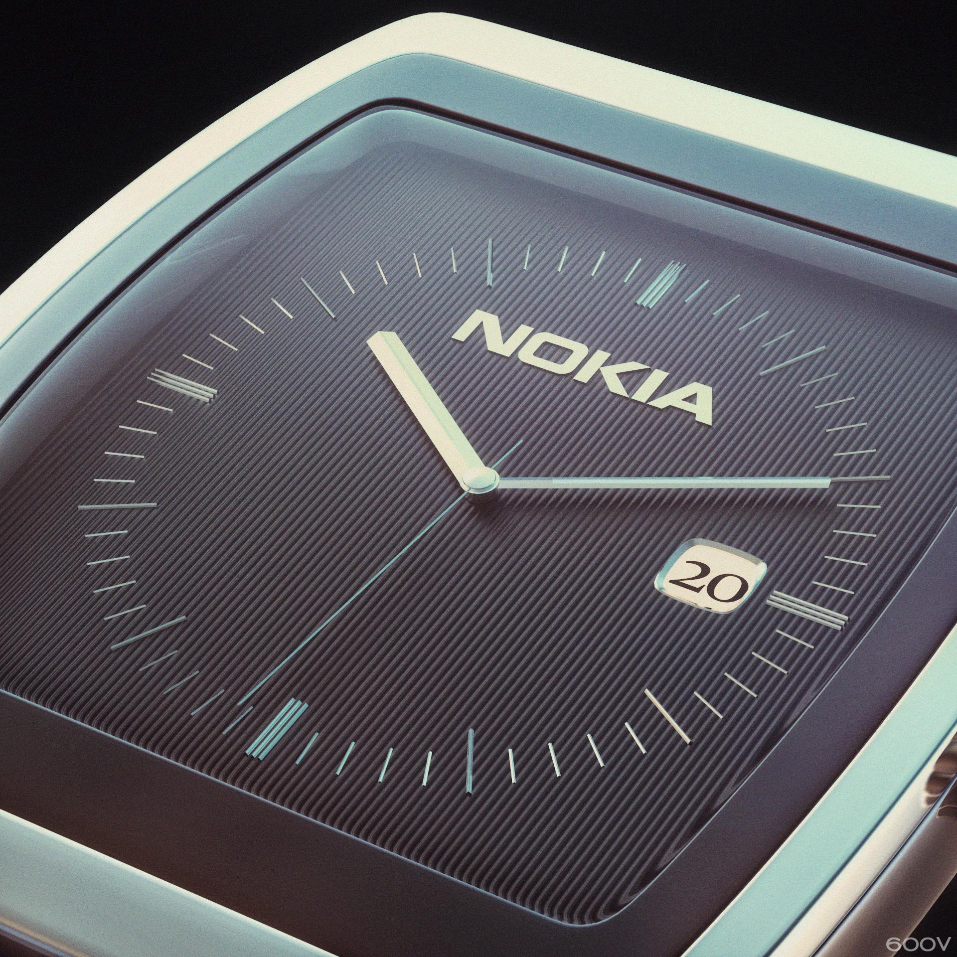 NOKIA wristwatch #2 by 600v