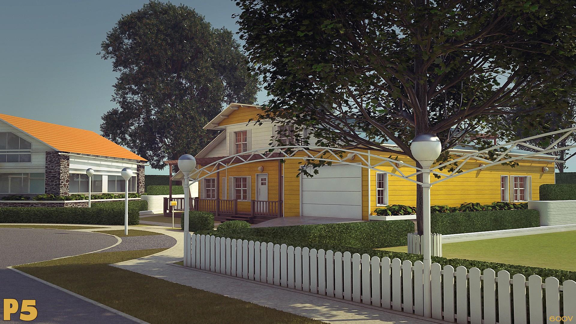 Neighborhood (+360 Panorama link) by 600v
