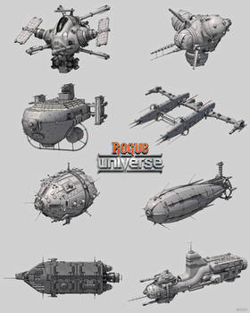 Spaceships - Rogue Universe (MUST Games)