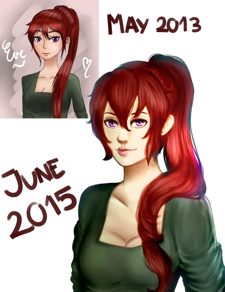 Redraw: Eva Goebel by Peanut-unit