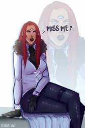 {Miss Me ?} by peanutin