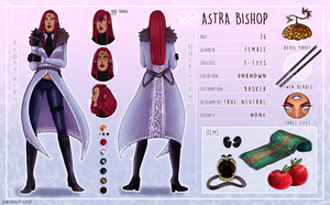 {OP OC : Astra Bishop} by peanutin