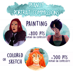 {Point commissions : CLOSED} by peanutin