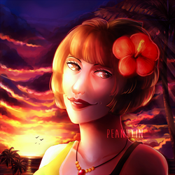 {Commission - Necky's mom for Lilderpist} by peanutin