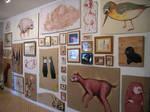 Wurm show , wall