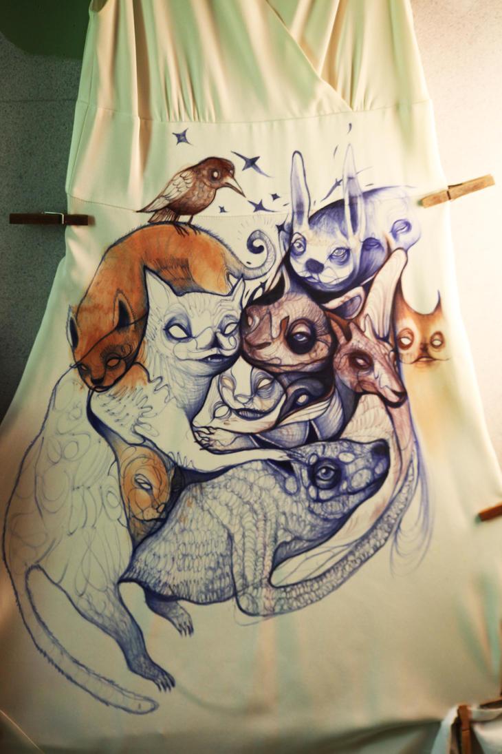 Dress front by StefanThompson