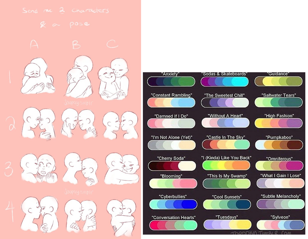 Couple Palettes by spcebeans