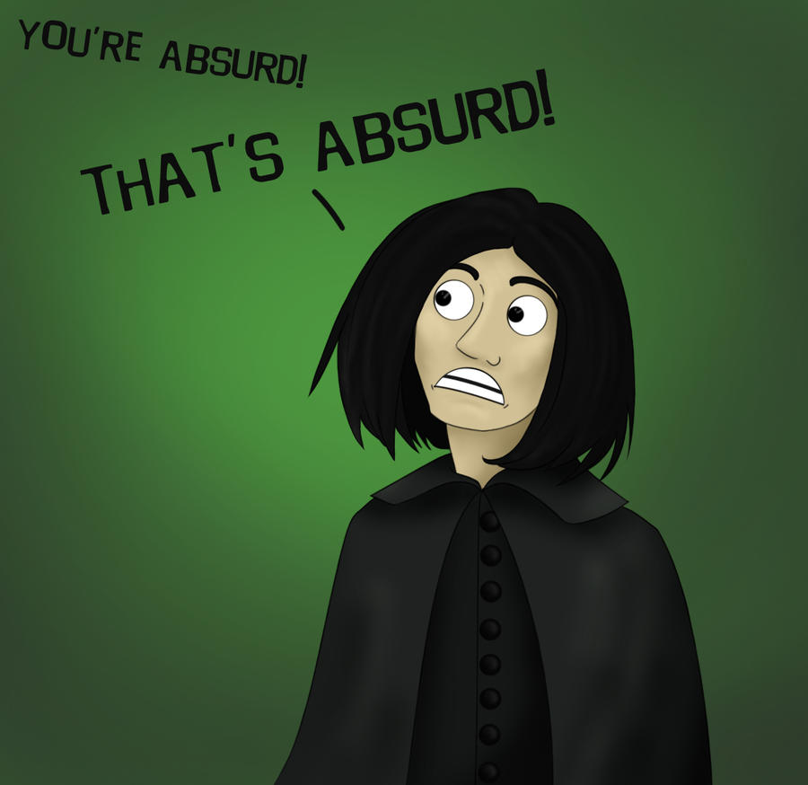 The expression of absurdism
