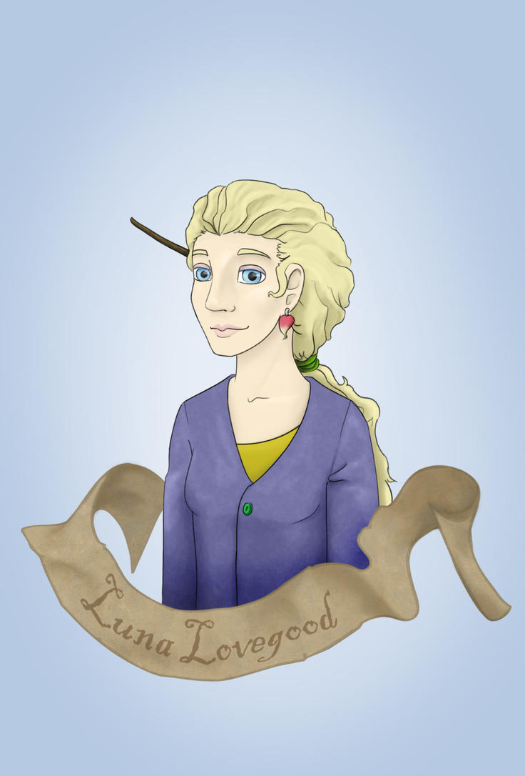 Luna Lovegood by FangsAndNeedles